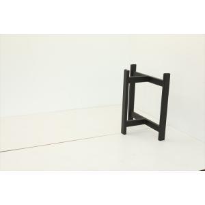 テーブル脚 TASシリーズ アイアン脚 TAS-08 700x300x650 サンドブラック|mukusakura|02