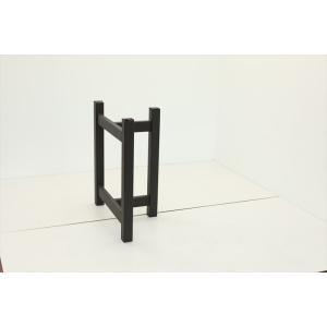テーブル脚 TASシリーズ アイアン脚 TAS-08 700x300x650 サンドブラック|mukusakura|03