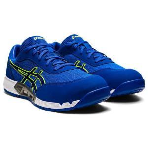 アシックス 安全靴 ウィンジョブ CP212 AC アシックスブルー×エレクトリックブルー 各サイズ|MULHANDZ