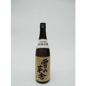 雪の茅舎 秘伝山廃 純米吟醸 720ml (秋田の地酒・日本酒)|multigura