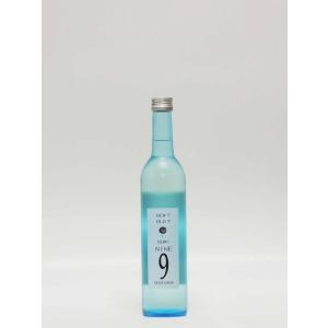 GOZENSHU  9 (NINE) ブルーボトル 生酒 500ml 【岡山の地酒・日本酒】 multigura