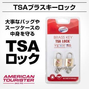 11%OFF還元クーポン配布中 正規品 アメリカンツーリスター 鍵 ロック TSAブラスキーロック ...
