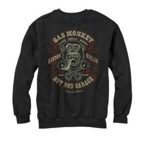 ガス・モンキー・ガレージ スウェット Gas Monkey Garage 黒 正規品|mumbles