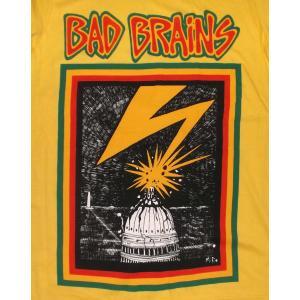 バッド・ブレインズ Tシャツ Bad Brains DC  黄 正規品 ロックTシャツ バンドTシャツ mumbles