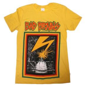 バッド・ブレインズ Tシャツ Bad Brains DC  黄 正規品 ロックTシャツ バンドTシャツ mumbles 02