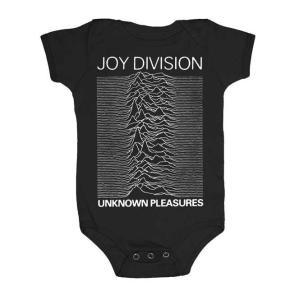 ジョイ ディヴィジョン ロンパース Joy Division Unknown Pleasures 正規品 ベビー服 ロックTシャツ関連 mumbles