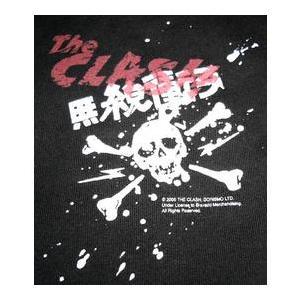 ザ・クラッシュThe Clash キッズTシャツ 無線衝突 正規品 ロックTシャツ バンドTシャツ mumbles