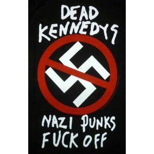 ケネディーズ black デッド メンズ Tシャツ Dead Kennedys トップス 【Nazi Punks F Off T-Shirt】