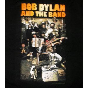 BOB DYLAN, BASEMENT TAPES MENS LIGHTWEIGHT TEE 正規品...