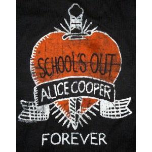 アリス・クーパー Alice Cooper ロンパース正規品 School's Out ロックTシャツ バンドTシャツ mumbles