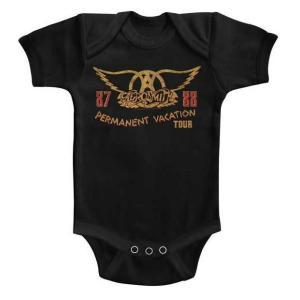 エアロスミス AEROSMITH ロンパース パーマネント ヴァケーション 正規品 ロックTシャツ バンドTシャツ mumbles