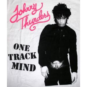 ジョニーサンダース Tシャツ One Track Mind /正規品  ルーズでジャンキーなカリスマ...