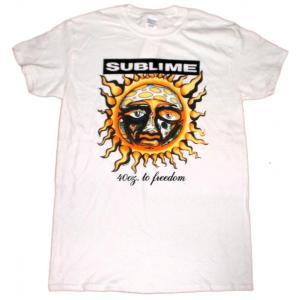 サブライム Tシャツ 白 SUBLIME 40OZ TO FREEDOM  正規品 ロックTシャツ バンドTシャツ|mumbles|02