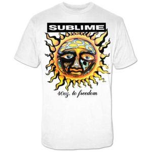 サブライム Tシャツ 白 SUBLIME 40OZ TO FREEDOM  正規品 ロックTシャツ バンドTシャツ|mumbles|05