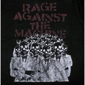 RAGE AGAINST THE MACHINE: SKELETON HEADS MENS TEE ...