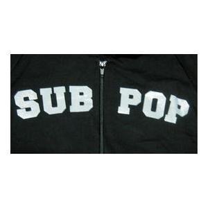 サブ・ポップ・レコード Sub Pop Records パーカー 正規品 ロックTシャツ バンドTシャツ正規品 ロックTシャツ バンドTシャツ|mumbles