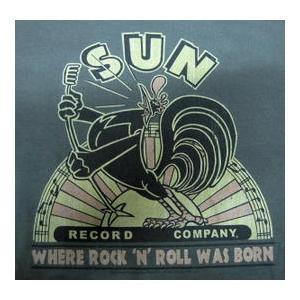 サン レコード Tシャツ 鶏 Sun Record US正規品 ロックTシャツ バンドTシャツ|mumbles