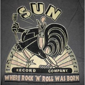 サン・レコード Sun Record Lady's-Tシャツ 鶏 US正規品 ロックTシャツ バンドTシャツ|mumbles