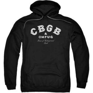 CBGB パーカー 黒 US正規品 ロックTシャツ バンドTシャツ|mumbles
