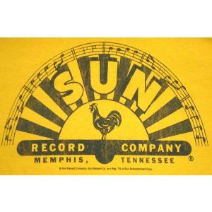 サン レコード Tシャツ Sun Record 黄 US正規品 Ladys対応 ロックTシャツ バンドTシャツ|mumbles