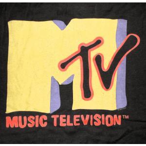 Music Television エムティービー MTV Tシャツ 正規品 ロックTシャツ バンドTシャツ|mumbles