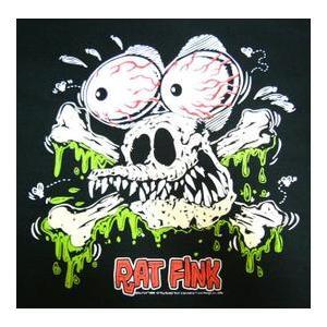 ラット・フィンク Rat Fink Tシャツ Skull Rats 正規品|mumbles