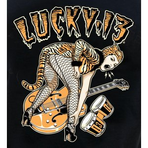 The FINK REAPER Short Sleeve Tee by Lucky 13 黒 正規品...
