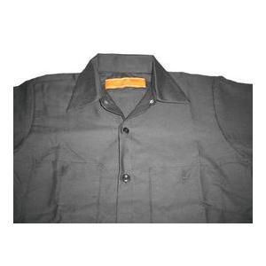 レッド キャップ ワークシャツ RED KAP 黒 半袖|mumbles