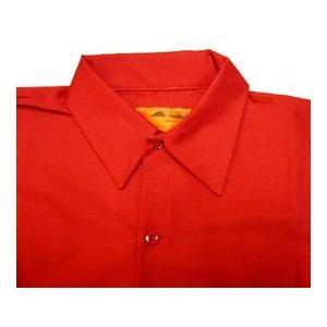 レッドキャップ REDKAP ワークシャツ 赤|mumbles