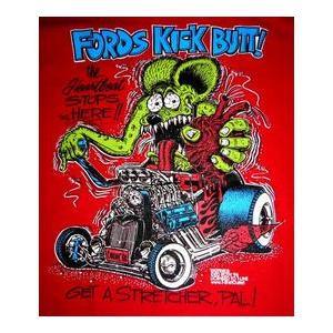 ラット フィンク Tシャツ Rat Fink Ford Kick USA正規品|mumbles