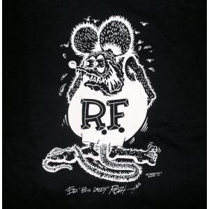 ラットフィンク キッズ Tシャツ モノフィンク  RAT FINK Mono Fink 黒 Lsdy's & Kids 正規品|mumbles