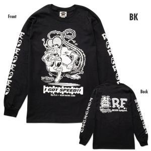 ラット フィンク ベースボール Tシャツ RAT FINK  (ラグランスリーブ Tシャツ) 正規品|mumbles