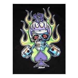 ヴォン・フランコ Von Franco Tシャツ Cycle Skull 正規品|mumbles