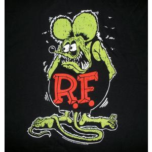 ラット フィンク Tシャツ Rat Fink USAカラー版 黒 正規品|mumbles