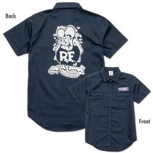 ラットフィンク ボーリング シャツ Rat Fink Bowling Shirt by Steady! 半袖シャツ ボウリング|mumbles
