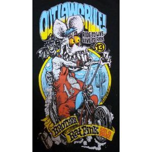 ロッキンジェリー・ビーン × ラットフィンク Rockin' Jelly Bean×RATFINK Tシャツ Outlaw Lady'sも有り|mumbles