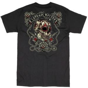 ラッキー13 Tシャツ LUCKY13 DEAD TATTOO 黒|mumbles|02