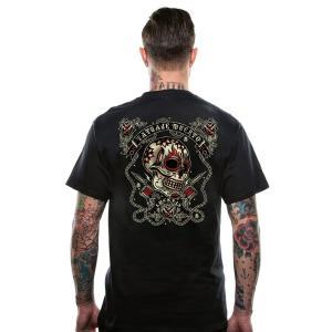 ラッキー13 Tシャツ LUCKY13 DEAD TATTOO 黒|mumbles|03