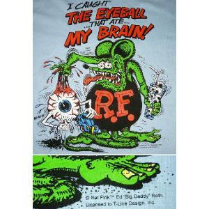 ラット フィンク Tシャツ Rat Fink Eye Ball USA正規品|mumbles