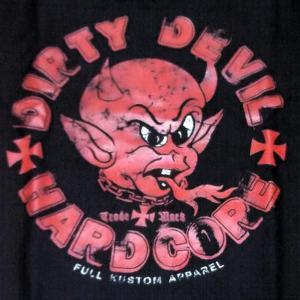 Dirty Devil ダーティー・デビル ワークシャツ 黒 LUCKY13 ラッキー13関連|mumbles