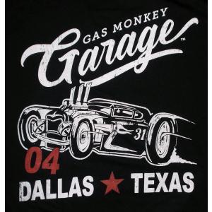 ガス モンキー ガレージ Gas Monkey Garage Tシャツ 白 正規品 アメ車関連