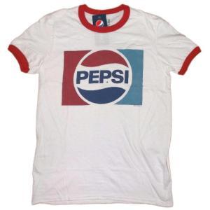 ペプシ・コーラ Pepsi Cola Tシャツ リンガー 正規品