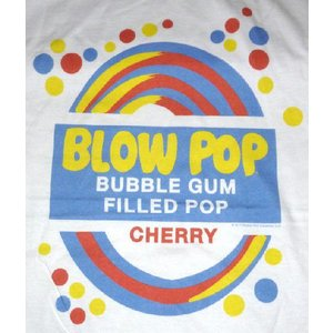 TOOTSIE ROLL, BLOW POP LABEL TEE 正規品  1896年に販売が開始さ...