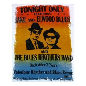 BLUES BROTHERS, THETONIGHT ONLY MENS TEE  ジョン・ベルーシ...