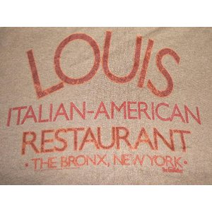 THE GODFATHER: LOUIS RESTAURANT MENS TEE  アメリカに生きる...