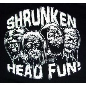 ラッキー・ミュール Lucky Mule Tシャツ Shrunken Head by Dirty Donny|mumbles