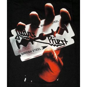 Judas Priest : British Steel Tee 正規品  1968年イギリスのバー...