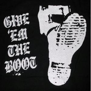 ギブ エム ザ ブート Give Em The Boot Tシャツ 正規品 ヘルキャット レコード Hell Cat Records バンドTシャツ関連 mumbles