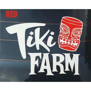 Tiki Farm Sticker  high quality, UV coated & d...