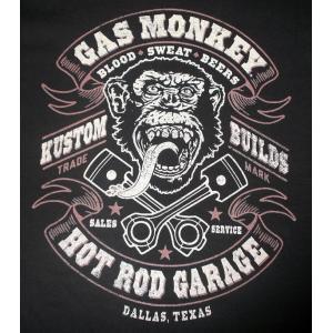 GAS MONKEY GARAGE, BLOOD SWEAT BEERS MENS TEE 正規品 ...